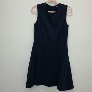 Navy blue dnky dress